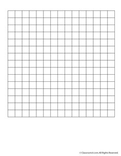 Blank 15 x 15 Grid Paper or Word Search Grid | Classroom Jr. More