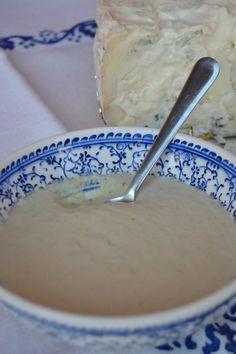Crema di porri e gorgonzola