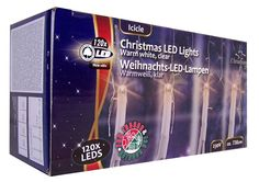 Christmas gifts Kerstverlichting ijspegels wit (120 LED's)