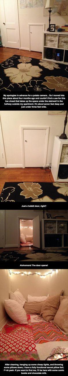 Oddly Shaped Closet