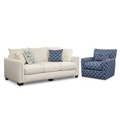 Chaise sofa value city furniture and sofas on pinterest for Berkline callisburgh sofa chaise
