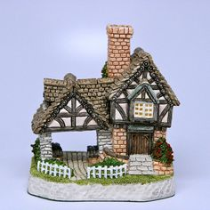 David Winter cottages - I collected them for many years.