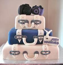 luggage wedding cakes - Google Search