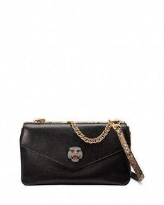 c2827419218d Gucci Thiara Python Double Envelope Shoulder Bag by Gucci at Neiman Marcus