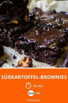 Süßkartoffel-Brownies - smarter - Kalorien: 190 Kcal - Zeit: 50 Min. | eatsmarter.de