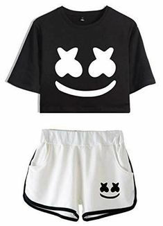 Girls Fashion Clothes, Teen Fashion Outfits, Swag Outfits, Mode Outfits, Outfits For Teens, Teenage Girl Outfits, Pajama Outfits, Crop Top Outfits, Cute Lazy Outfits