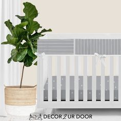For our modern + minimal momma's out there. This Blue Metal modern bumperless nursery look is complete with hand drawn stripes + coordinating Swiss cross pattern. We love how this look is modern and simple - leaving all the room for the baby to shine. Available in (9) color ways. Modern Baby Bedding, Baby Boy Bedding Sets, Woodland Baby Bedding, Custom Baby Bedding, Baby Girl Crib Bedding, Baby Sheets, Baby Cribs, Nursery Bedding, Nursery Curtains