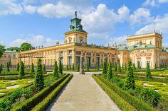 Royal Palace in Wilanow, Warsaw, Poland