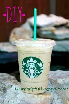 Mother Bear: DIY Starbucks Frappuccino!