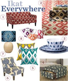 """What do you think of ikat for weddings? Any of you incorporating it into your """"look""""?"""