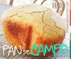 Pan de Campo en Panificadora Pan Rapido, My Recipes, Favorite Recipes, Texas Bbq, Types Of Bread, Pan Dulce, Bread Machine Recipes, Our Daily Bread, Pan Bread