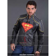 Batman Vs Superman Black Leather Jacket
