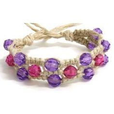 Wide Hemp Bracelet - CraftStylish