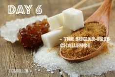 Day 6 of the 1-week sugar-free challenge. Did you know that there are over 50 different names for sugar hiding in your groceries? Get sugar-savy and learn the difference between glucose and fructose! (from my site www.exsugarholic.com)