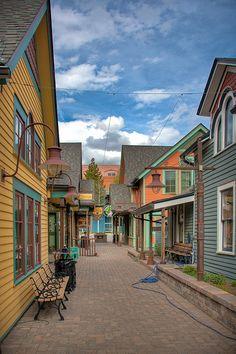 Alleyway ~ Breckenridge, Colorado