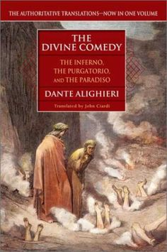 The Devine Comedy (inferno, purgatory, paradise) by Dante