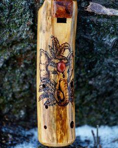 Wooden ocarina