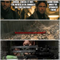 reason why running zombies run