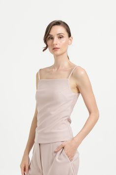 Shop effortless, minimalist & modern ready-to-wear here. We make quality & affordable fashion since We ship worldwide. Affordable Fashion, Ready To Wear, Camisole Top, Spring Summer, Tank Tops, Knitting, How To Wear, Clothes, Shopping