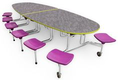 School Lunch Table | Communicator Cafeteria Table | SICO