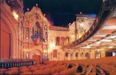 TAMPA THEATRE:    Built in 1926, one of the few atmospheric movie palaces that still plays movies--classics, indies & foreign films. Check out our concerts & special events, too!