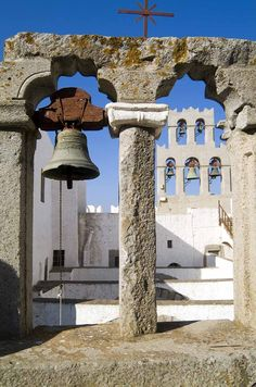 Patmos, Dodecanese, Greece - Saint John wrote Revelations while here. Best Greek Islands, Greece Islands, Albania, Santorini, Mykonos Greece, Crete Greece, Athens Greece, Places To Travel, Places To See