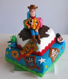 I think thomas had a cake like this but with buz when he was little haha