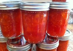 Peach Raspberry Jam.  This site has a huge amount of canning recipes!