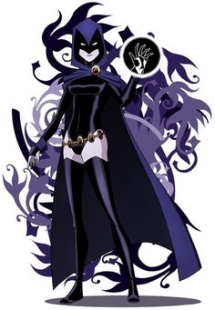 """Raven (Rachel Roth) is a fictional character, super-heroine in the DC Comics universe. Created by Marv Wolfman and George Pérez, she first appeared in a special insert in DC Comics Presents #26 in 1980. Daughter of the demon Trigon and the human Arella. Raven is an empath who can teleport and control her """"soul-self,"""" which can fight physically, as well as act as Raven's eyes and ears away from her body. - Visit to grab an amazing super hero shirt now on sale!"""