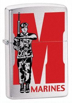 Zippo Feuerzeug Motiv Marines