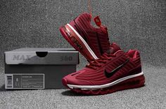 We Are Your Right Choice to get Authentic Nike Air Max 360 Running Shoes  For Men Wine Red Black On Sale 912e56c3a