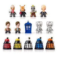 ThinkGeek :: Doctor Who Titans Blind Boxed Vinyl Figures