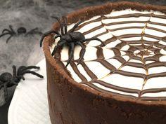 Tarta de queso y chocolate para Halloween - MisThermorecetas