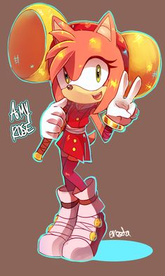 Amy rose loves apples by Princesaurora on DeviantArt Sonic Boom Amy, Sonic And Amy, Rose Pictures, Comic Pictures, Sonic The Hedgehog, Cartoon Video Games, Cartoon Art, Shadow And Amy, I Love Games