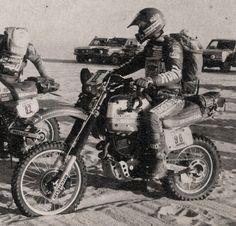 Philipe Vassard / Honda 600 XR / Paris Dakar 1983