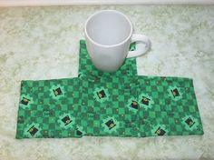 st pattys set of mug rugs by KjsKwilting on Etsy, $8.00