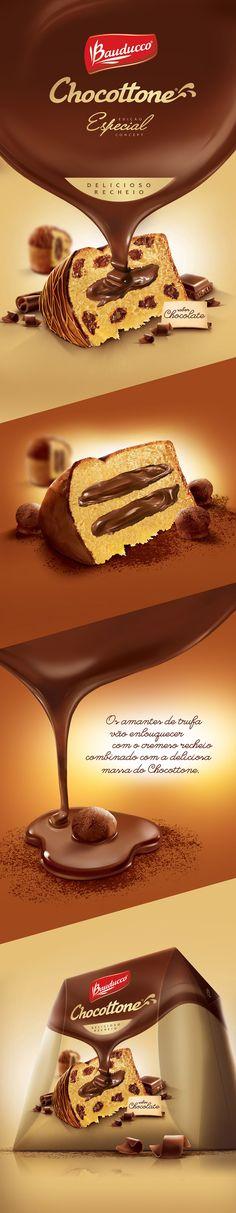 Bauducco Chocottone Especial on Behance