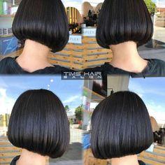 @cleoevoのInstagram写真をチェック • いいね!50件 Stylish Haircuts, Cool Haircuts, Bob Hairstyles, Short Styles, Long Hair Styles, Summer Haircuts, Black Bob, Hair Brained, Bob Cut