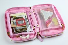 The Chic Country Girl: Planner: What I Keep In My Travel/Portable Planner Kit   Pure Honey Jewelry Clutch + Giveaway