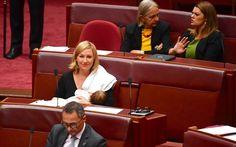 #Australian #senator makes history by #breastfeeding her baby in parliament...