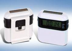 3.000 Ft helyett 1.790 Ft: Solar Runner napelemes lépésszámláló övcsipesszel, LCD kijelzővel, lépésszám, megtett távolság, eltelt időt és elégetett kalória mutatóval