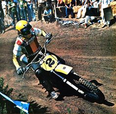 1975 Carlsbad USGP Roger DeCoster - Modern Cycle Pic