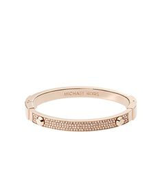 Astor Pavé Rose Gold-Tone Bracelet by Michael Kors