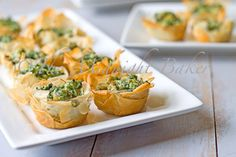Spinach & Sausage Nibblers - Yummy! And not overly complicated. Love this idea, and I have definitely seen theses pre-made phyllo cups around Cape Town.