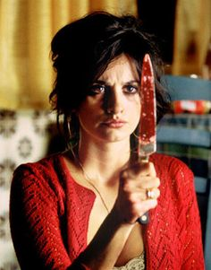 Pedro Almodovar's - Volver (2006)  After her death, a mother returns to her home town in order to fix the situations she couldn't resolve during her life. Penélope Cruz, Carmen Maura, Lola Dueñas