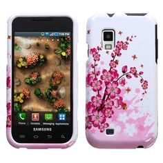 Design Hard Protector Skin Cover Cell Phone Case for Samsung Fascinate / Mesmerize (Galaxy S) I500 U.S. Cellular,Verizon Wireless - Spring Flowers  Hard Protector Skin Cover Cell Phone Case protects the body of your phone while providing unobstructed access to your phone. The two-piece protector case snaps securely onto the front and back of your cell phone. The rubber coating makes the case much more durable in comparison with other protector ca...