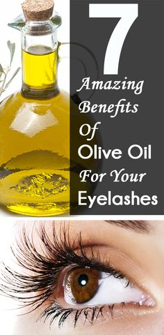 6 Amazing Benefits Of Olive Oil For Your Eyelashes Long and dark eyelashes give the eyes their true beauty. Beautiful eyelashes are undoubt. Health And Beauty Tips, Beauty Make Up, Beauty Care, Diy Beauty, Beauty Skin, Homemade Beauty, Face Beauty, Health Tips, Healthy Beauty