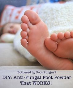DIY Anti-Fungal Foot Powder Bothered by foot fungus? Stress no more! Here' - - DIY Anti-Fungal Foot Powder Bothered by foot fungus? Stress no more! Here' makeup tricks DIY Anti-Pilz-Fußpuder Von Fußpilz gestört? Natural Health Remedies, Herbal Remedies, Complementary Alternative Medicine, Foot Powder, Deodorant Recipes, Alternative Health, Feet Care, Herbal Medicine, Fungi