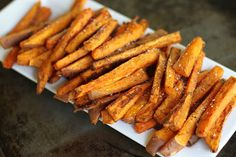 Oven Baked Sweet Potato Fries with Fry Sauce