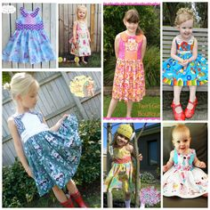 Ainslee Fox Foxtrot Party Dress size 1 to 12 years by ainsleefox